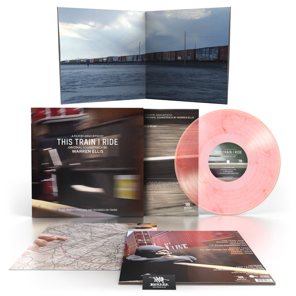 Warren Ellis - This Train I Ride OST [Ltd Edition Exclusive Pink Marble LP]