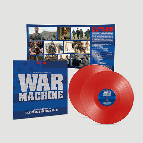 Nick Cave & Warren Ellis - War Machine (A Netflix Original Film) [2 x Red Vinyl]