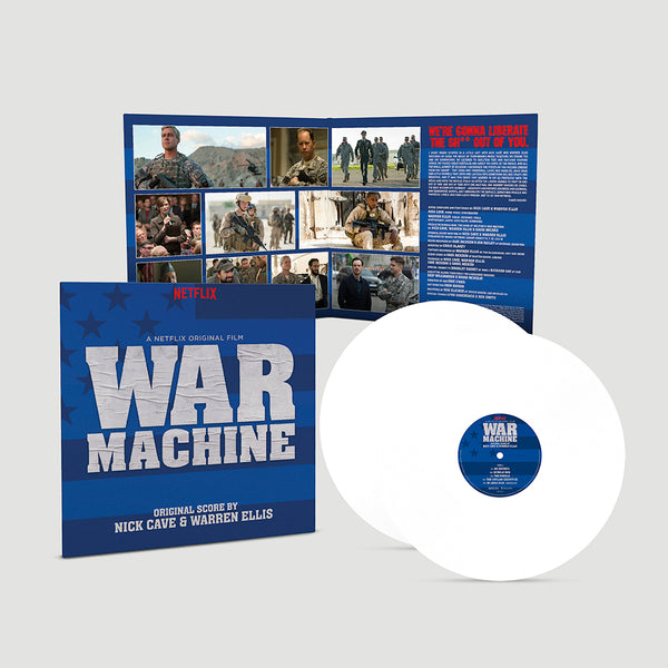 Nick Cave & Warren Ellis - War Machine (A Netflix Original Film) [2 x White Vinyl]