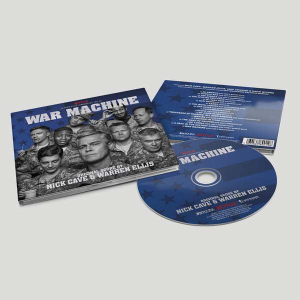 Nick Cave & Warren Ellis - War Machine OST [CD]