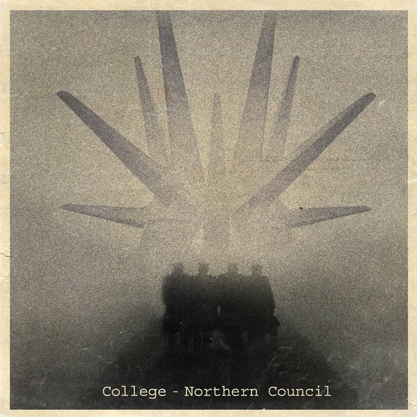 "COLLEGE Northern Council LP (frosted clear vinyl /5 12""x12"" prints/ dl-card)"