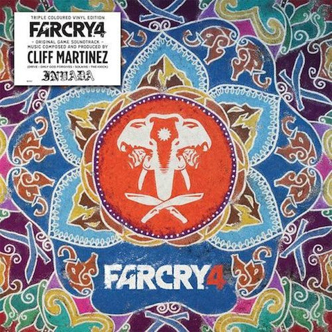 FAR CRY 4 Original Game Soundtrack (Triple Colour Vinyl LP & Double CD)