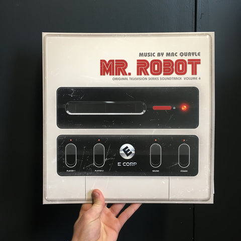 Mac Quayle - Mr. Robot Vol. 4 (Original Television Series Soundtrack) [2 x 180g Black Vinyl]
