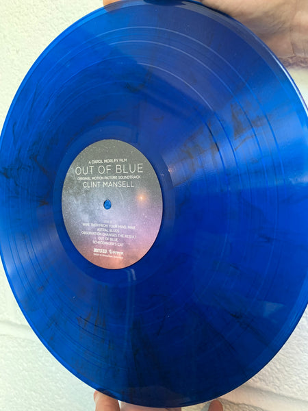 Clint Mansell - Out Of Blue OST [Blue & Black Marble Vinyl]