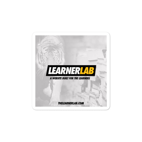 The Learner Lab Sticker
