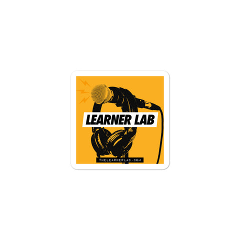 The Learner Lab Podcast Sticker