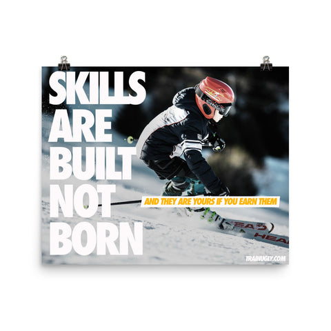 Built Not Born Ski
