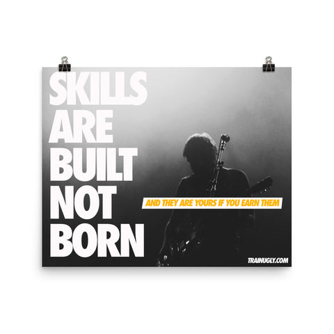 Built Not Born Guitar