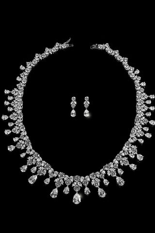 Royal Vintage Bridal Jewelry Set