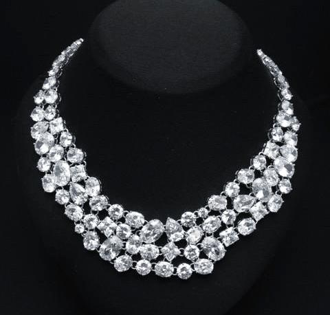 Beautiful Cubic Zirconia Necklace