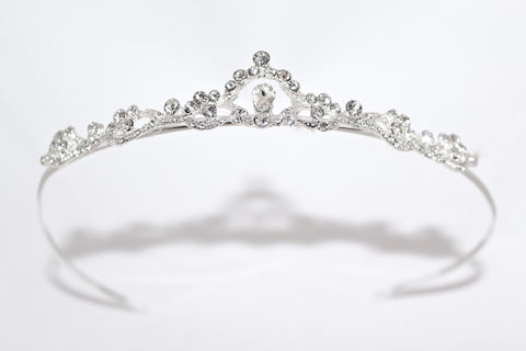 Simply Charming Rhinestone Communion Tiara