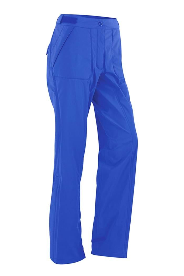 BLUE 'Angie' WATERPROOF GOLF TROUSERS - WOMEN / OUTLET