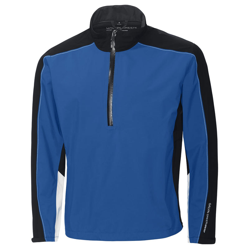KINGS BLUE/BLACK/IRON GREY/WHITE AYERS HALF ZIP JACKET - MEN / OUTLET