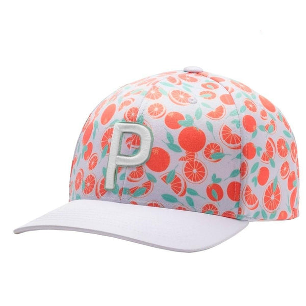 WHITE 'P 110 Slices' GOLF CAP - LIMITED EDITION / MEN