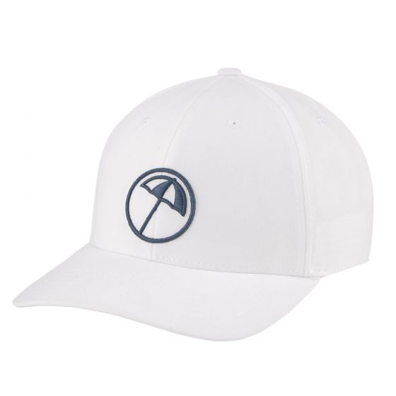 White 'CIRCLE UMBRELLA' SNAPBACK GOLF CAP - ARNOLD PALMER X PUMA / MEN