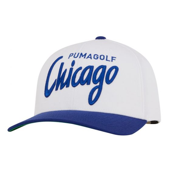WHITE 'CHICAGO' GOLF CAP - MEN / AW20