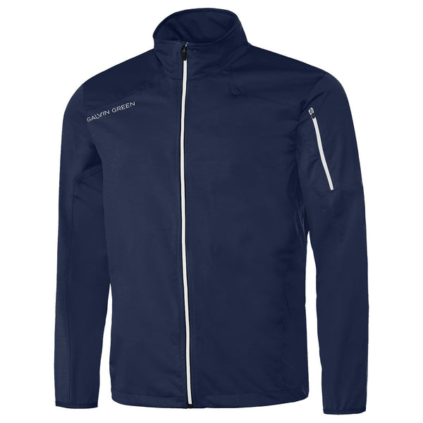 NAvy Lance windproof INTERFACE™ STRETCH GOLF JACKET - MEN / OUTLET