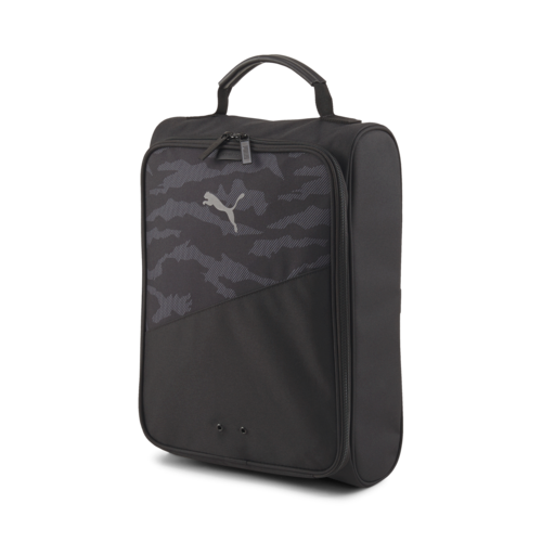 BLACK 'CAMO' GOLF SHOE BAG