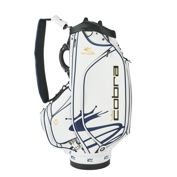WHITE 'COBRA X VESSEL'  GOLDEN STANDARD' STAFF BAG