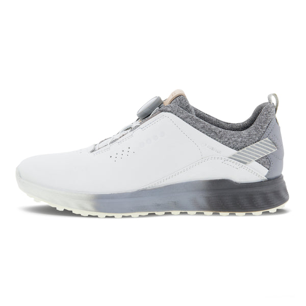 White/Silver Grey 'Golf S-Three' Golf Shoe - WOMEN