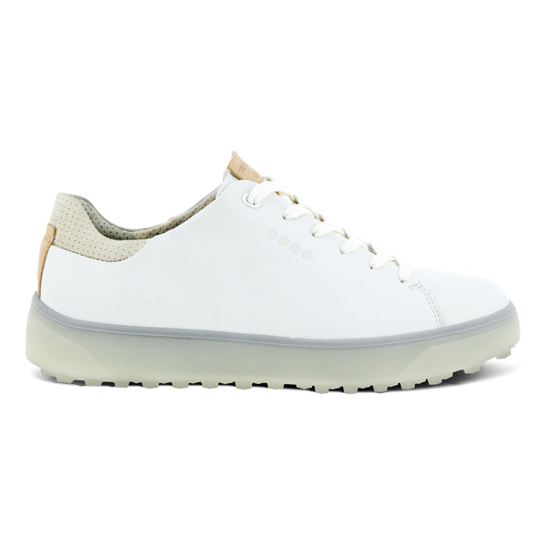 White 'TRAY' Spikeless Golf Shoe - WOMEN / 2021
