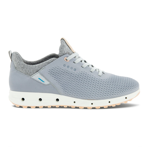 Silver Grey Racer Yak 'Cool Pro' Golf Shoe - WOMEN