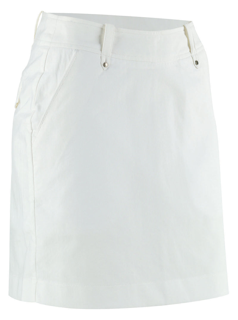 WHITE 'NORA' GOLF SKORT - WOMEN / OUTLET
