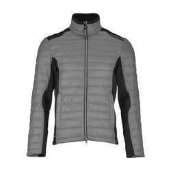 PLATINUM GREY MINO JACKET - MEN / OUTLET