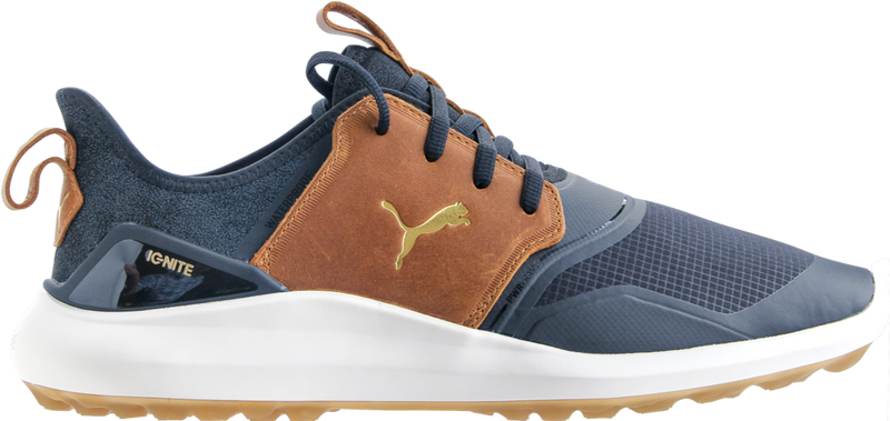 NAVY 'IGNITE NXT CRAFTED' GOLF SHOE - MEN / AW20