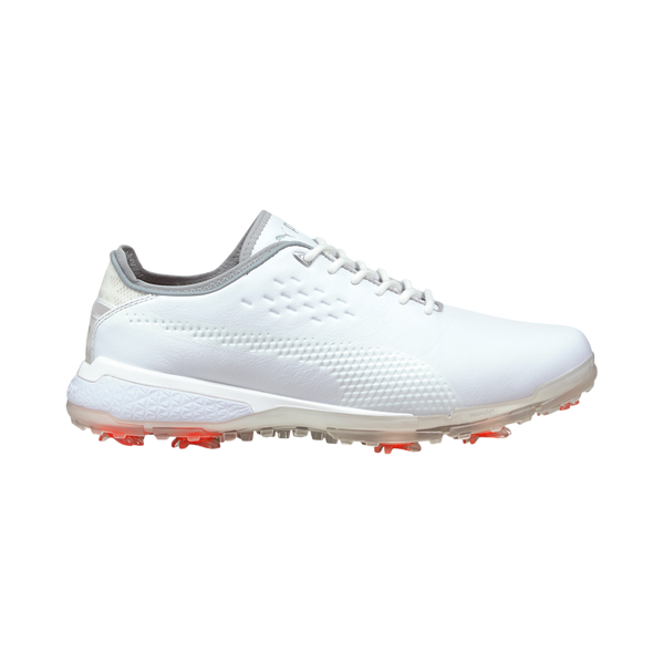 White 'PROADAPT ∆' Spiked Golf Shoe - MEN