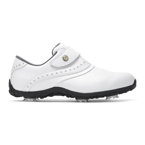 WHITE 'ARC LP' GOLF SHOE - WOMEN / SS20
