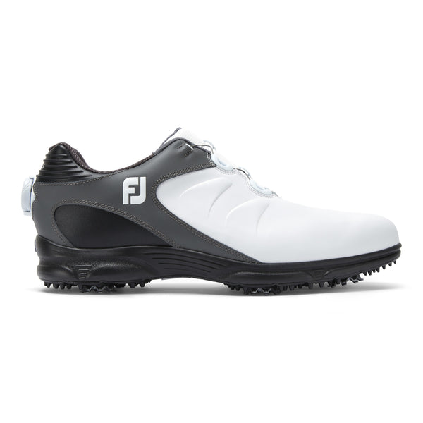 WHITE/BLACK 'ARC XT' GOLF SHOE - MEN / SS20