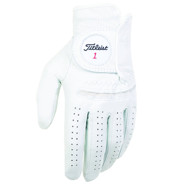 White 'Permasoft' Golf Glove - MEN / SS20