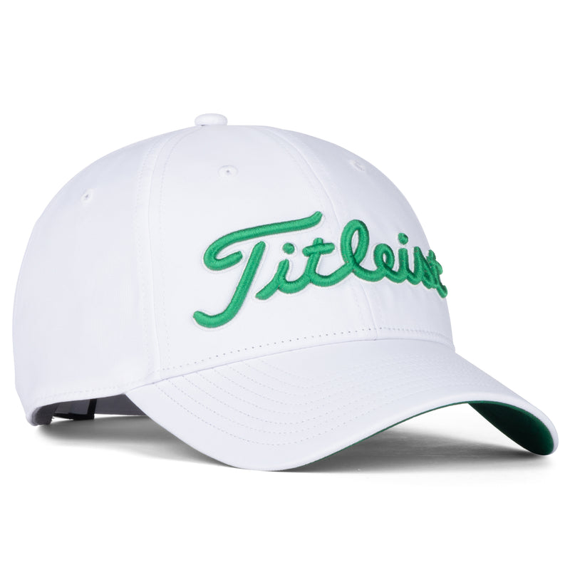 White St. Patricks Performance Standard Golf Cap  - Limited edition
