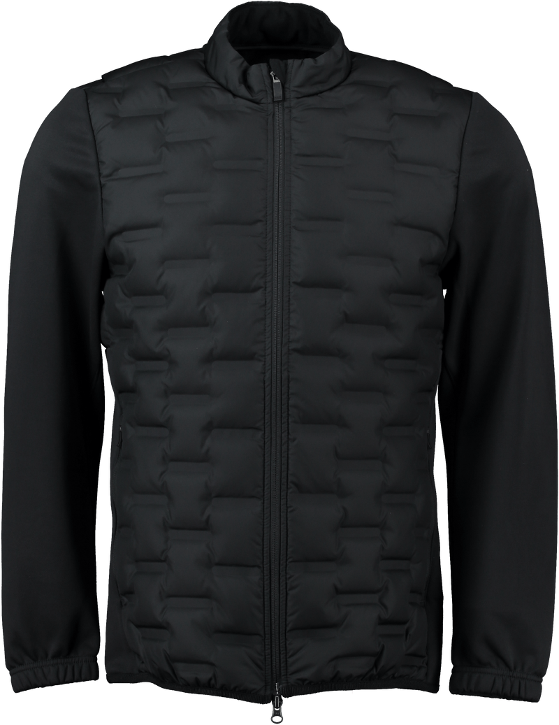 Black 'AeroLoft Repel' Golf Jacket - MEN'S / 2021