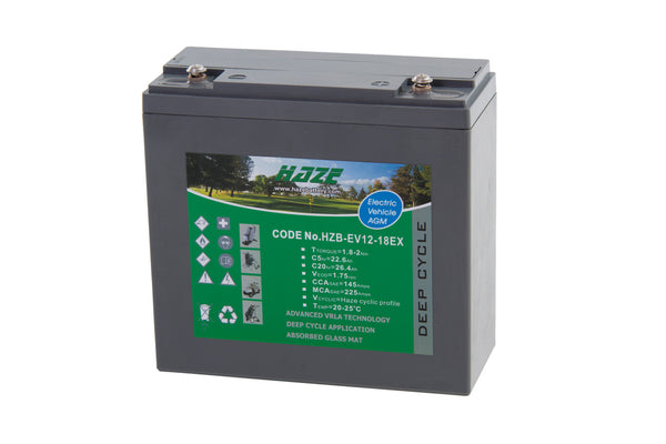 MOTOCADDY LEAD ACID BATTERY (18) (NO BAG & CABLE) - 2020