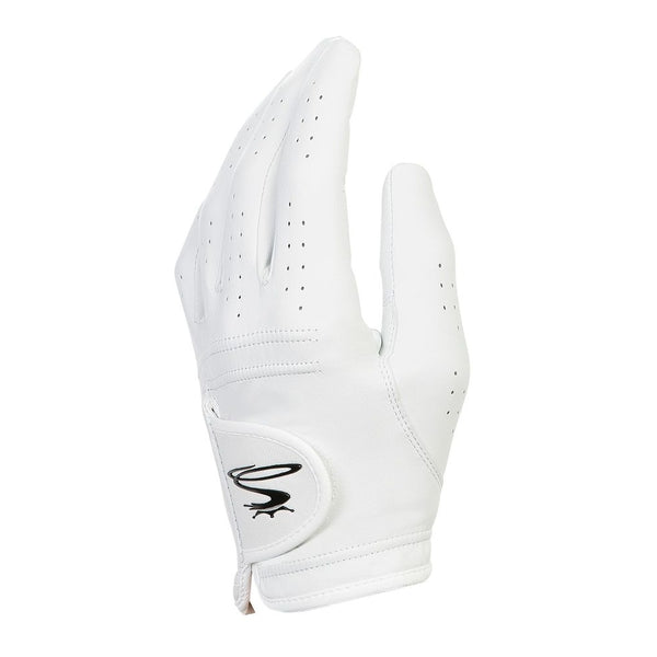 White 'PUR TOUR' Golf Glove - MEN / AW20