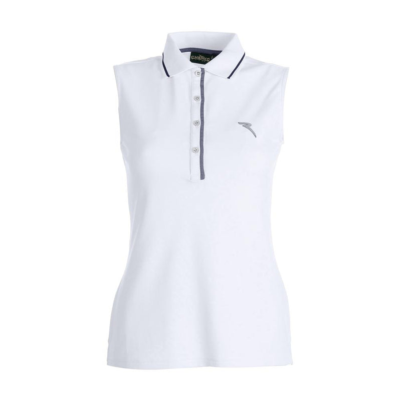 WHITE AMICA POLO - WOMEN / OUT