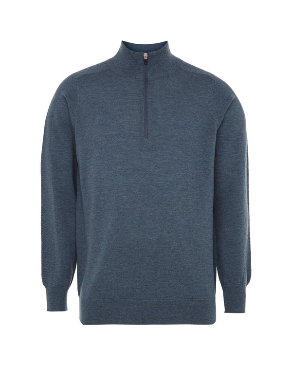 AIRFORCE MERINO 1/4 ZIP SWEATER - MEN'S / SS18