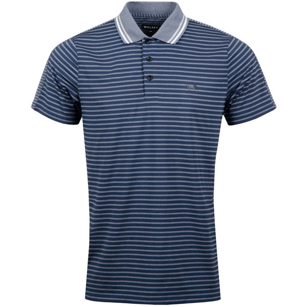 TOTAL ECLIPSE STRPE SPLIT POLO   -
