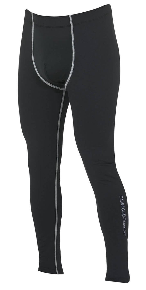 Black 'ELROY' SKINTIGHT LEGGINGS  - MEN / OUTLET