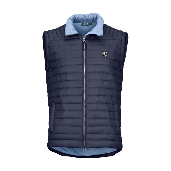 Navy Elifio Vest - MEN / OUTLET