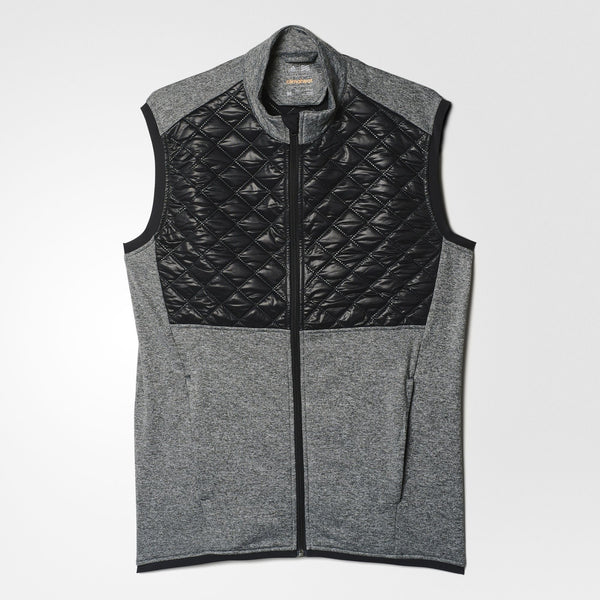 GREY GOLF VEST - MEN / OUTLET