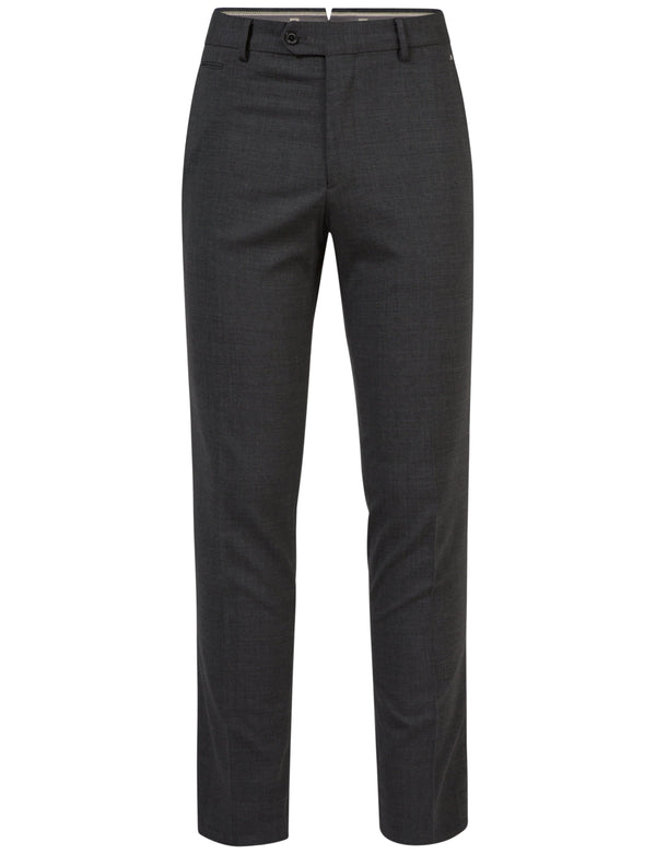 GREY JONAS STR WOOL PANT   -  SS17
