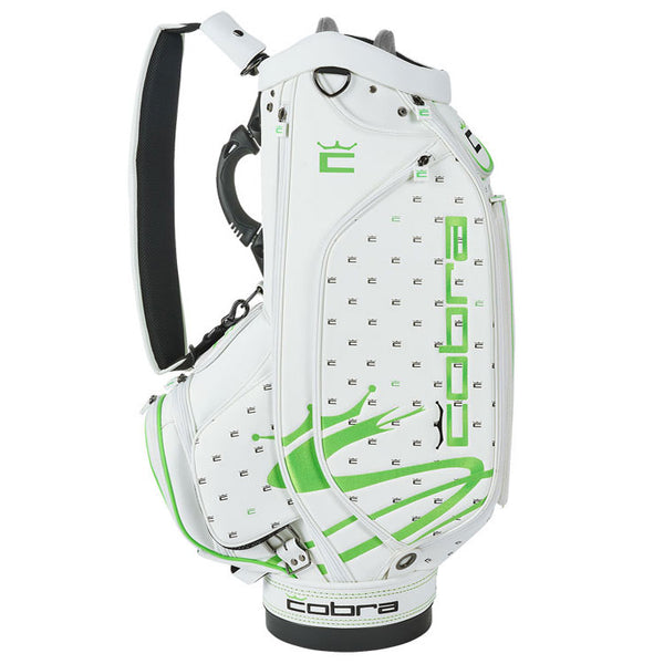 Bright White 'Cobra Crown C' Ditsy Staff Bag