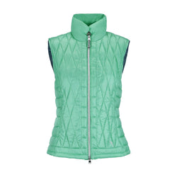 PARADISE GREEN EVELINA VEST - WOMEN / OUTLET