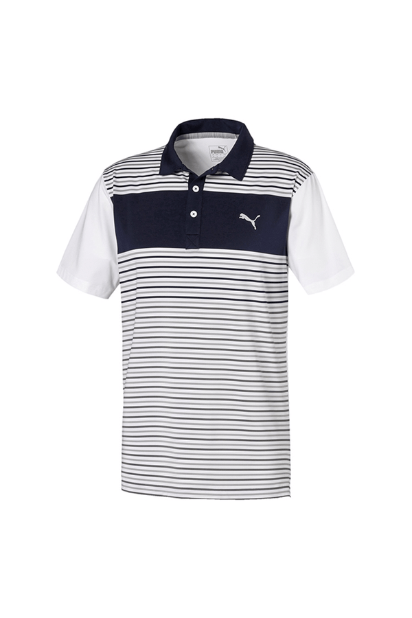 WHITE 'Floodlight' Golf Polo - MEN / SS20