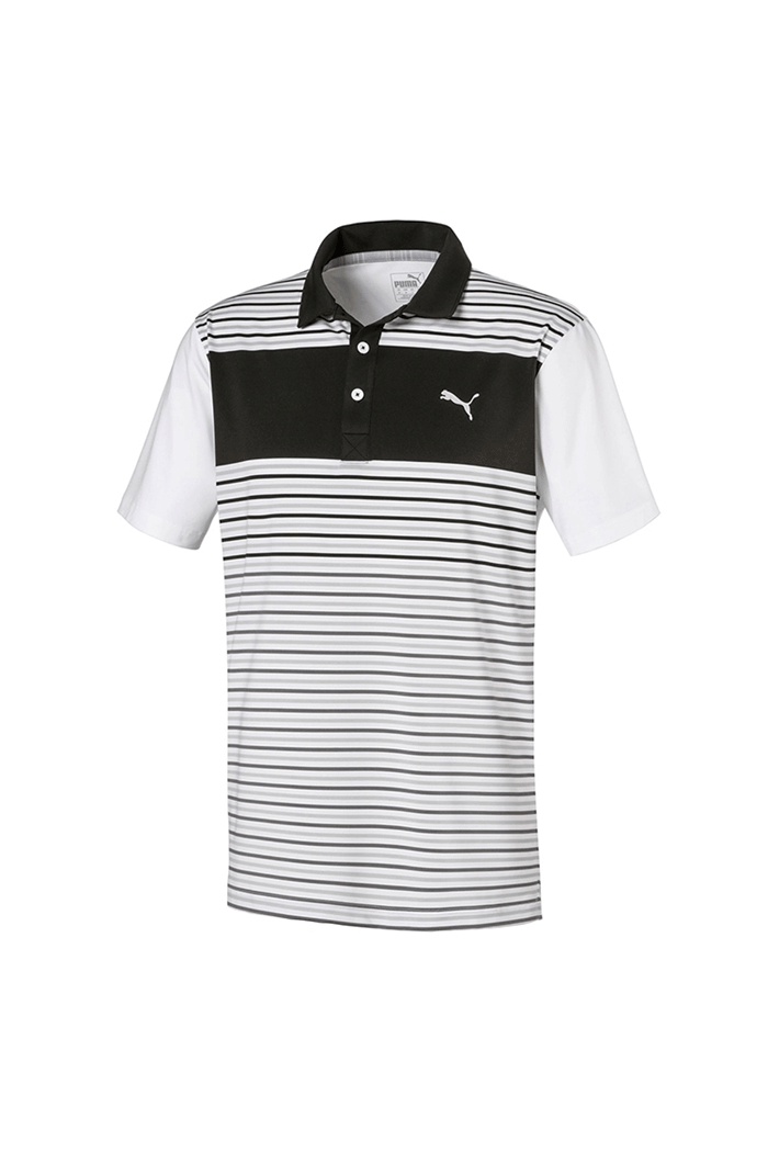 BLACK 'Floodlight' GOLF Polo - MEN / SS20