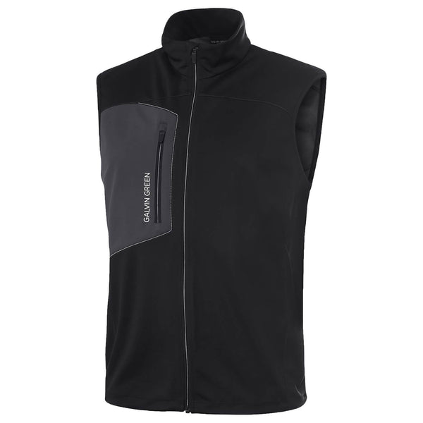bLACK LENNY INTERFACE™ BODYWARMER/VEST - MEN / OUTLET