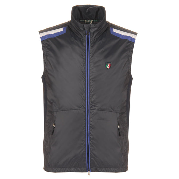 NAVY ELIGIO VEST - MEN / OUTLET